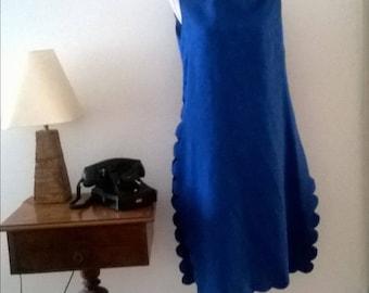 Beautiful vintage dress, 70s. Size 46