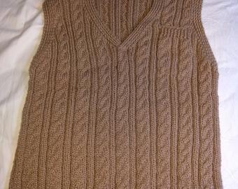 Hand Knit Vest