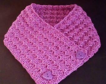 Crochet Elegant Cowl