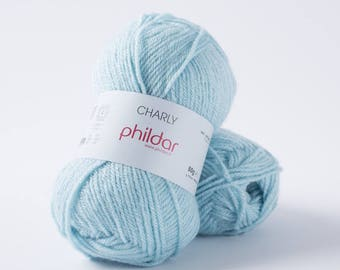 Wool Phildar Charly Aqua