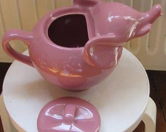 The Elephant pink teapot