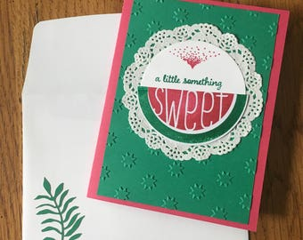 All Occasion Watermelon Themed Cards (Set of 4)