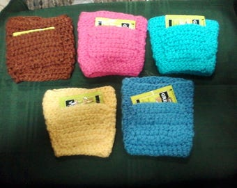 Carry-Out Cup Cozy with Pocket