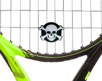 Oversized Skull For Optimal Tennis Racquet Vibration Dampener Performance by Racket Expressions, Comes as a 2 Pack