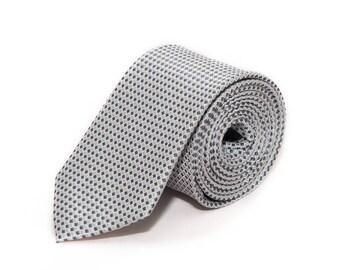 de MORÉ - squared Grey tie