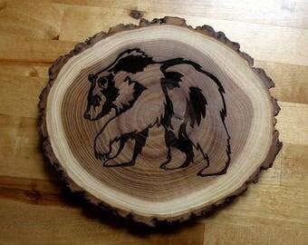Bark Edge Bear Trivet