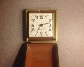 Vintage Westclox Travel Alarm Clock