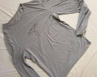vintage CALVIN KLEIN CK t shirt long sleeve