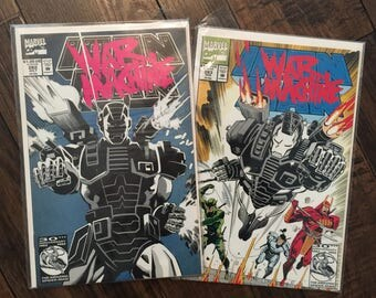 War Machine first and second appearance Iron Man Marvel Comics 282 and 283