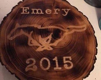 Circular / Oval Custom Wood Sign