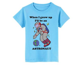 Astronaut T-Shirt for children - available in many sizes and colors