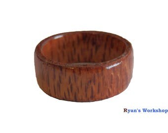 Silky Oak Ring Wooden Jewellery Fancy