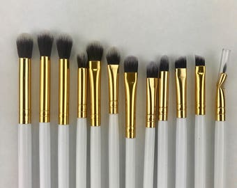 Eye Brush Set, 12 Piece Essential Makeup Brush Set