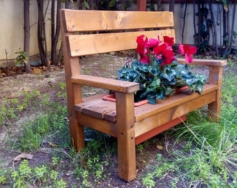 Wooden Flower pot. Cesira""