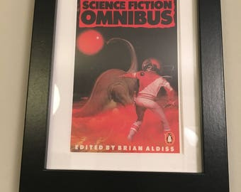 Classic Penguin Science Fiction Book cover print- framed - Science Fiction Omnibus
