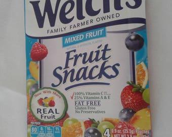 Welchs fruit snack sketchbook