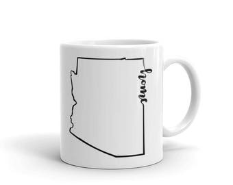 Arizona Home State - Coffee Mug