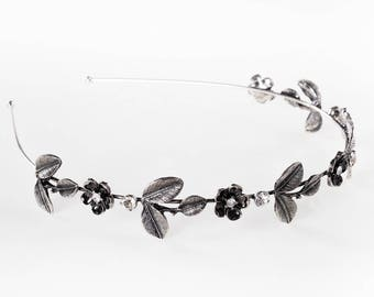 Game of Thrones Hair Accessory, Medieval headpiece,Bridal headband,Crystal Tiara,Hair Wreath,Bohemian Wedding accessories,wedding headband