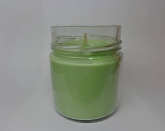 Vegetable soy wax scented eucalyptus