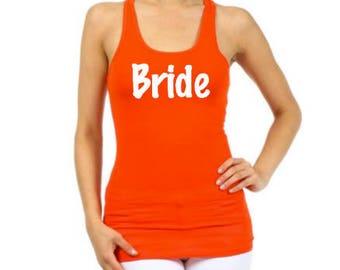 Bridesmaid shirts - Bridesmaid Tank Top - Bachelorette Party Shirts - Maid of Honor Shirt - Mother of the Bride Shirt - Bridal Party Shirt