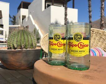 Topo Chico Glasses / Tumblers (4 Pack)