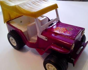 Tonka Rare Purple Jeep.