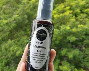 Facial Cleansing Oil - Emulsifies upon contact with water