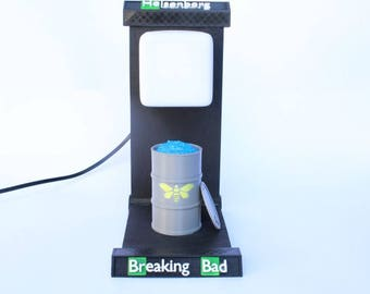 Lámpara Led BREAKING BAD HEISENBERG Led Lamp