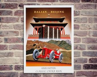 China Run poster. Louis Vuitton poster. Razzia poster.