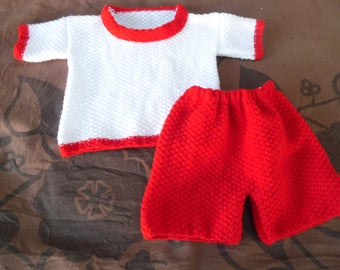 Pullover short sleeves and shorts size 12 months