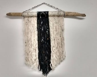 Driftwood Yarn Tapestry