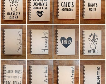 Personalised A5 Notebook - Any Design