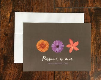 Passover card | Happy Passover | Pesach Jewish Greeting card
