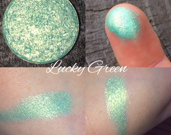 Pressed Eyeshadow (Lucky Green)