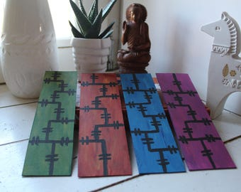 Bookmarks, books (marker) separator colors