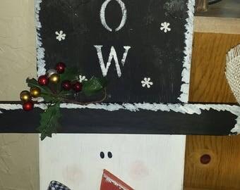 Festive holiday snowman!