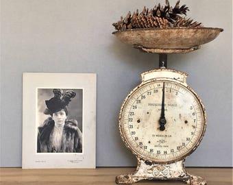 Antique Vintage Old Photo Victorian Print Victorian Portrait Sepia Photo Print Cabinet Card Black White Photograph Card, Photographer Gift