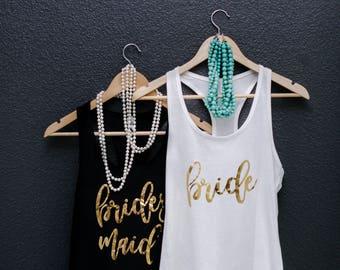 Bridal Party Shirts , Bridal Shirts,  Bridesmaid Gifts,  Bachelorette Party Shirts, Bridesmaid Shirts, Bridesmaid T Shirts