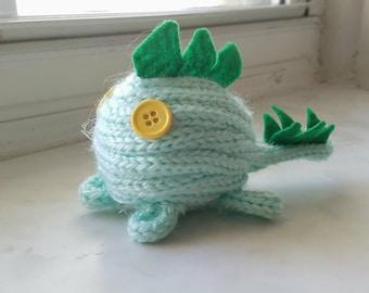 Handmade Knitted Stegosaurus