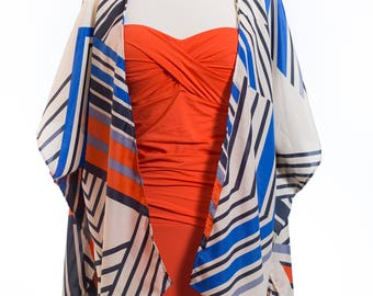 cardigan type cover up, beach and summer ready, classy & fashion style