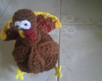 Crochet Puzzle ball Turkey