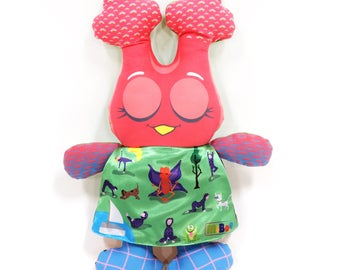 50% discount MiBoo  Owl Doll 4in1 Collection My Sport Rag Doll