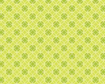 Green Dot Circles-Bree by Benartex 170228