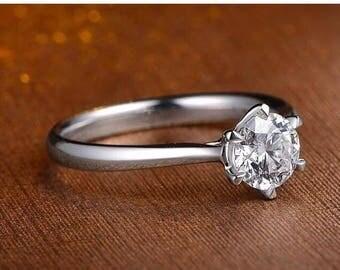 0.2ct diamond engagement ring