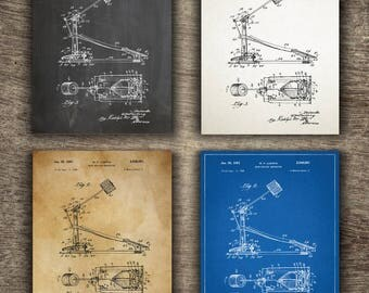 Drum Beating Mechanism Patent | Drummer Gift | Drummer Wall Decor | Drummer Gift For Him | Drummer Mechanism Patent INSTANT DOWNLOAD