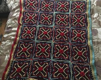 Mystery Afghan blanket