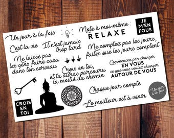 Stickers quotes (french)