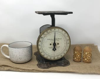 Vintage Columbia Family Scale Kitchen Scale