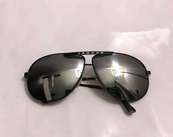 Vintage 80s Jaguar Aviator Sunglasses