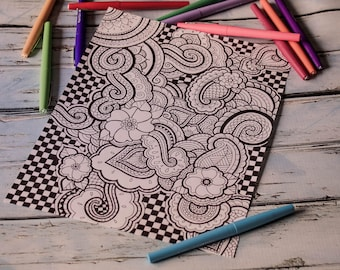 Printable Coloring Page 1